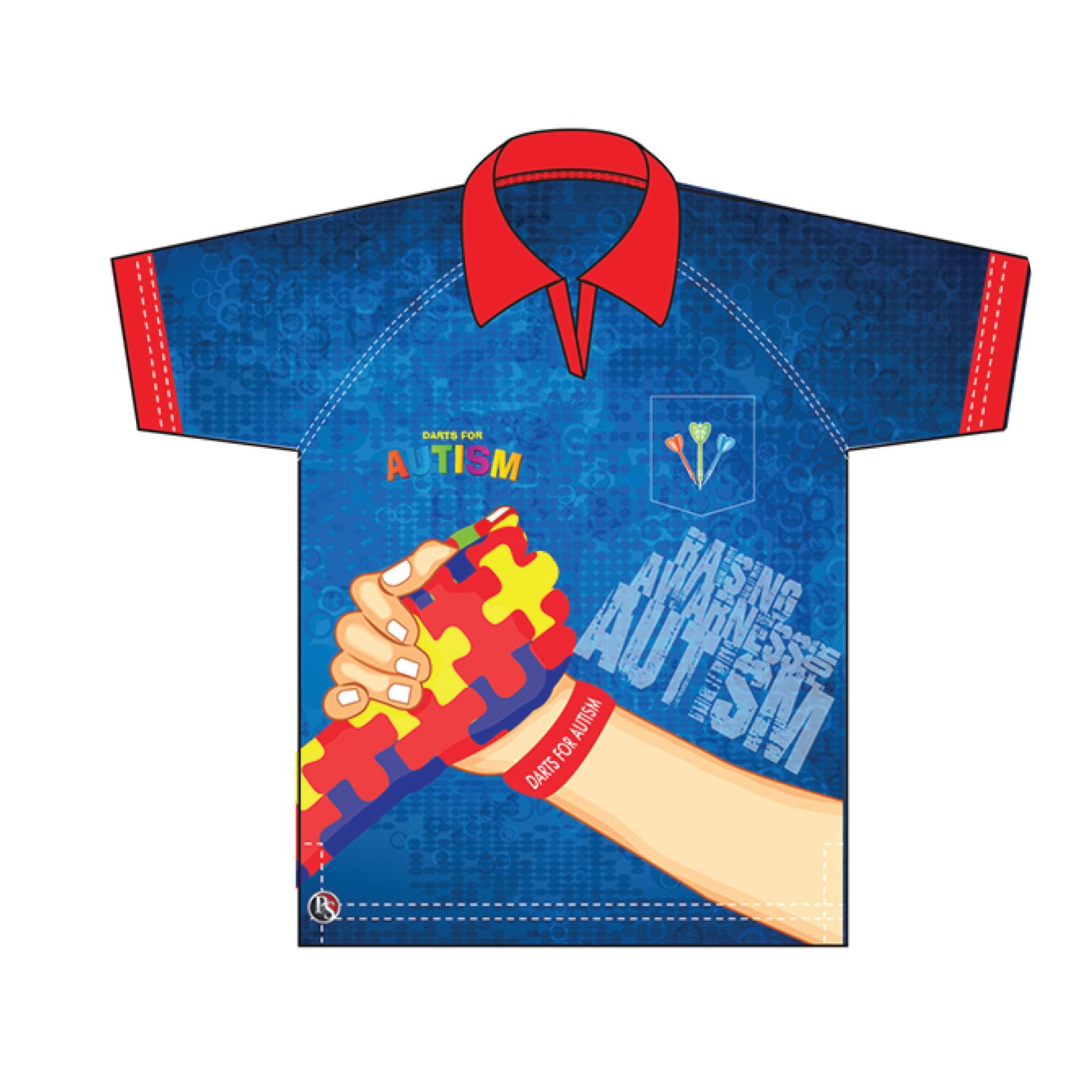 69154741 Darts Polo Shirts Personalised   Top Mode Depot